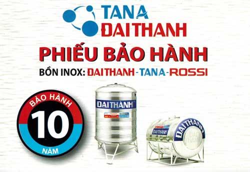 Phieu bao hanh Dai Thanh
